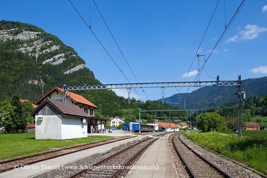 "Bahnhof ""Noiraigue"""