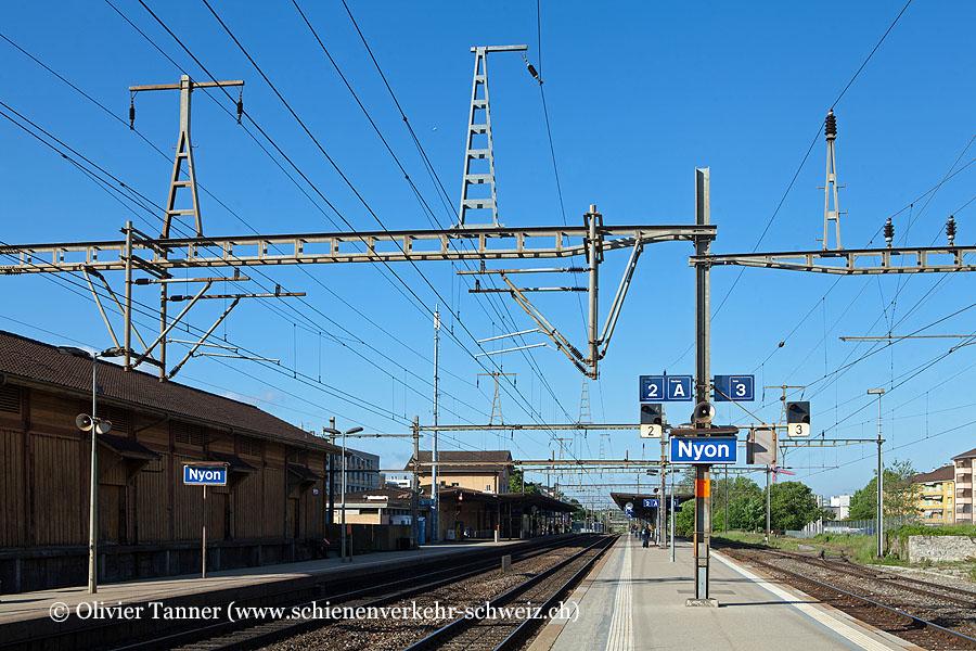 "Bahnhof ""Nyon"""