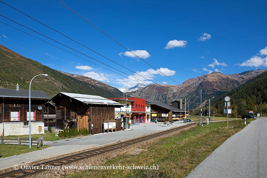 "Bahnhof ""Obergesteln"""