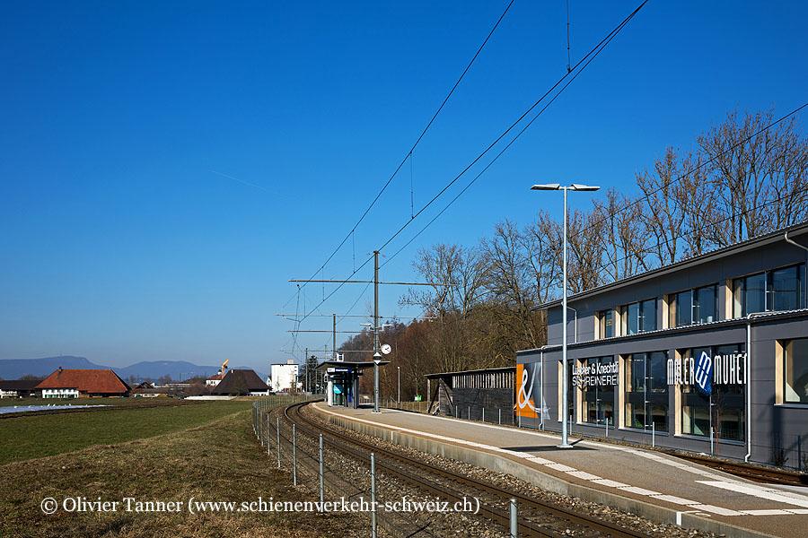 """Bahnhof """"Obermuhen"""""""