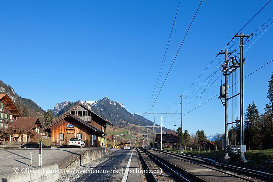 """Bahnhof """"Oberwil im Simmental"""""""