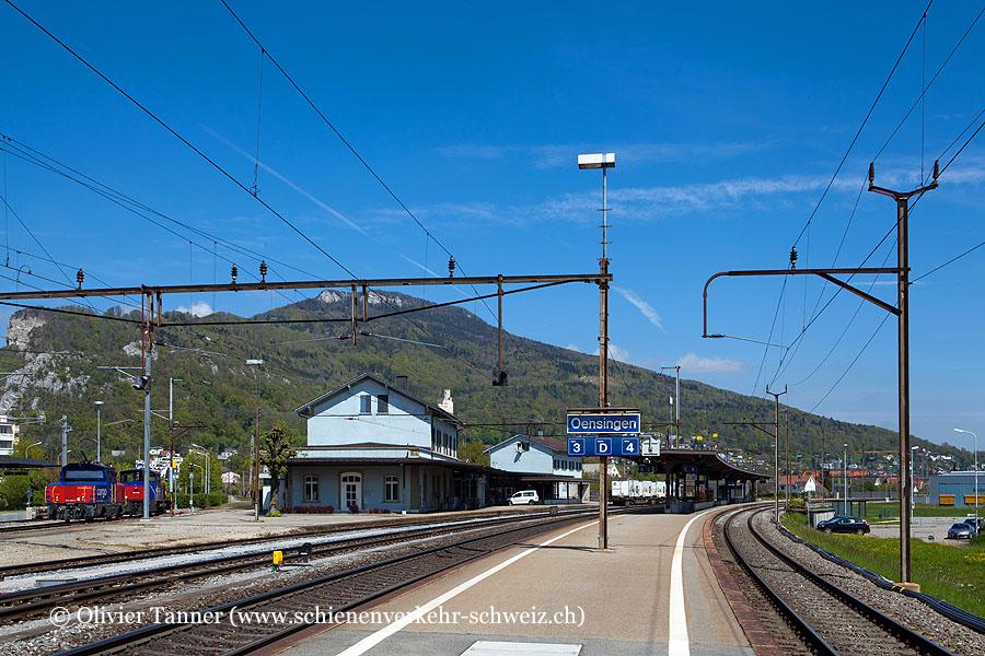 "Bahnhof ""Oensingen"""