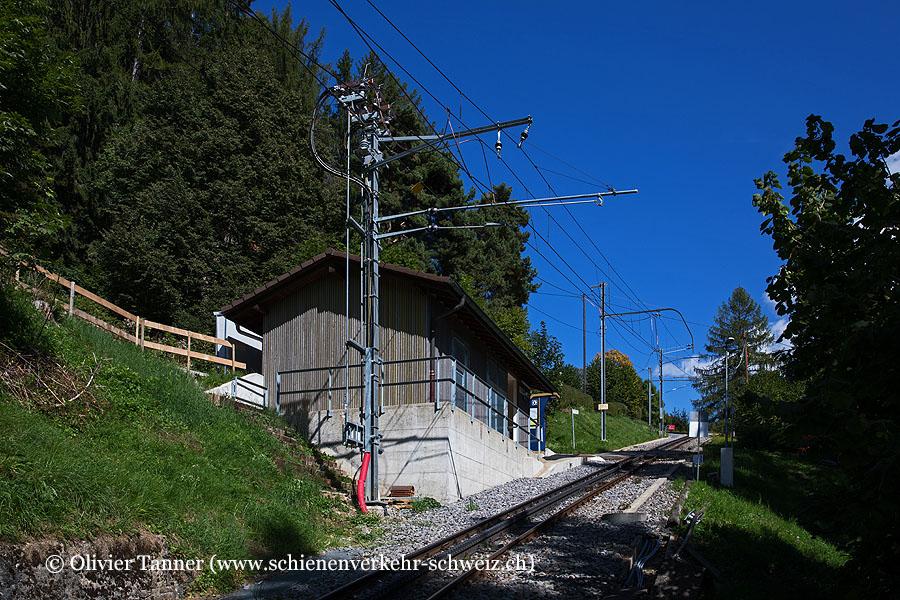 """Bahnhof """"Ondallaz-L'Alliaz"""""""