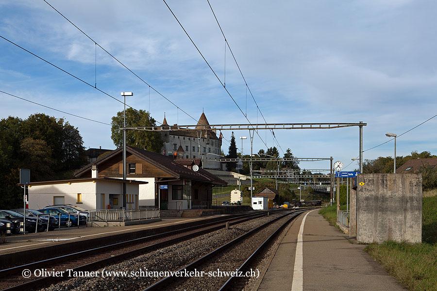 "Bahnhof ""Oron"""