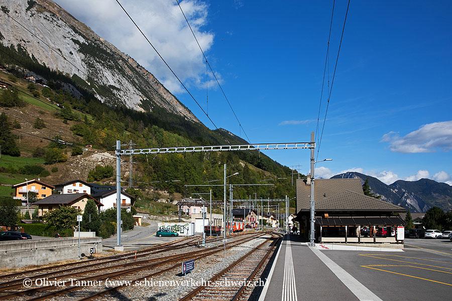 """Bahnhof """"Orsières"""""""