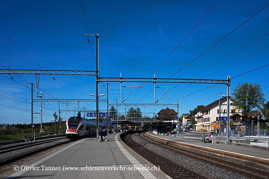 """Bahnhof """"Palézieux"""""""