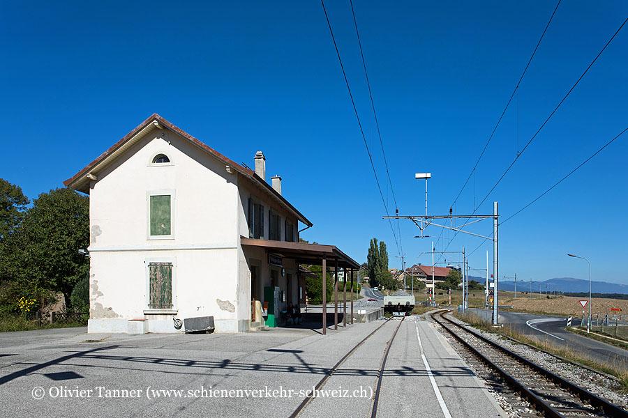 "Bahnhof ""Pampigny-Sévery"""