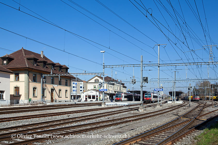 "Bahnhof ""Payerne"""