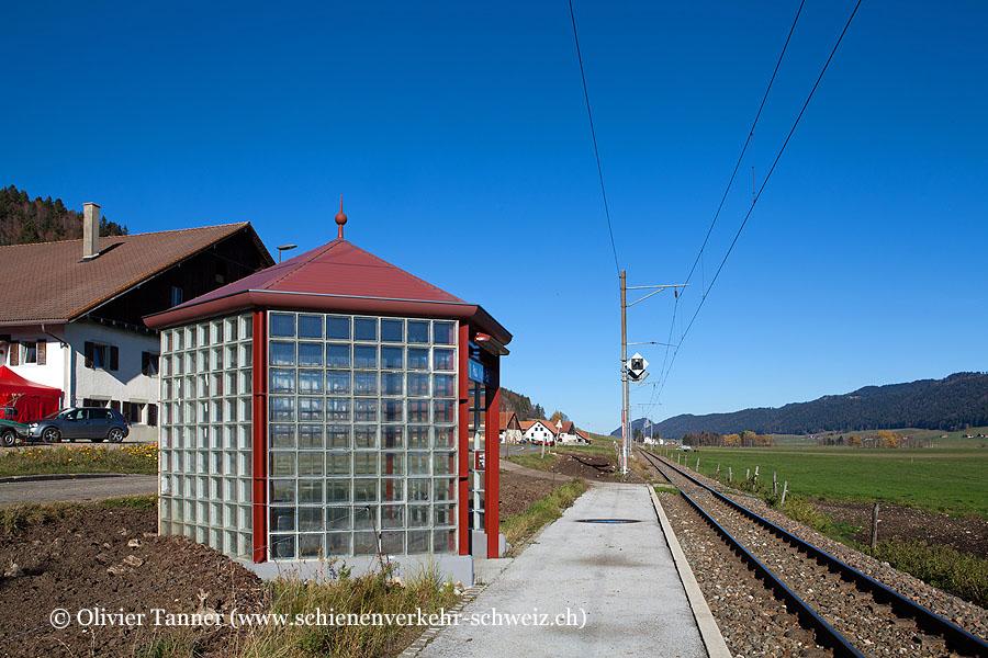 """Bahnhof """"Petit-Martel-Est"""""""
