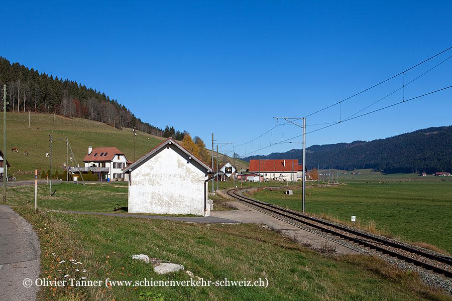 "Bahnhof ""Petit-Martel"""