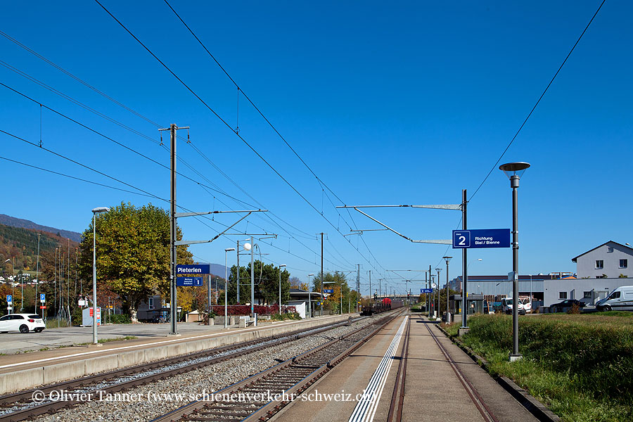 """Bahnhof """"Pieterlen"""""""