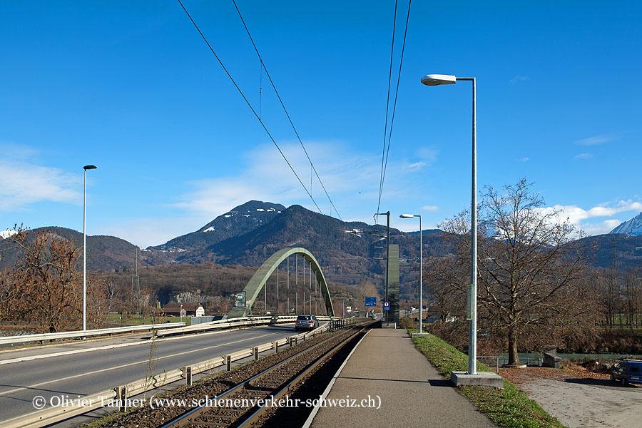 """Bahnhof """"Pont du Rhône"""""""