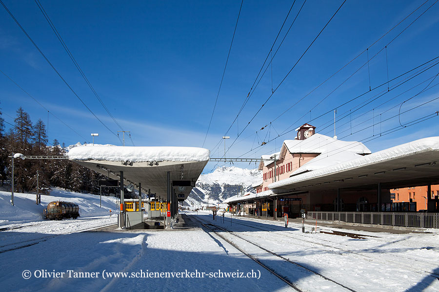 "Bahnhof ""Pontresina"""