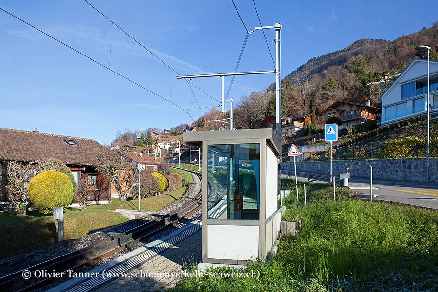 """Bahnhof """"Prélaz-sur-Blonay"""""""