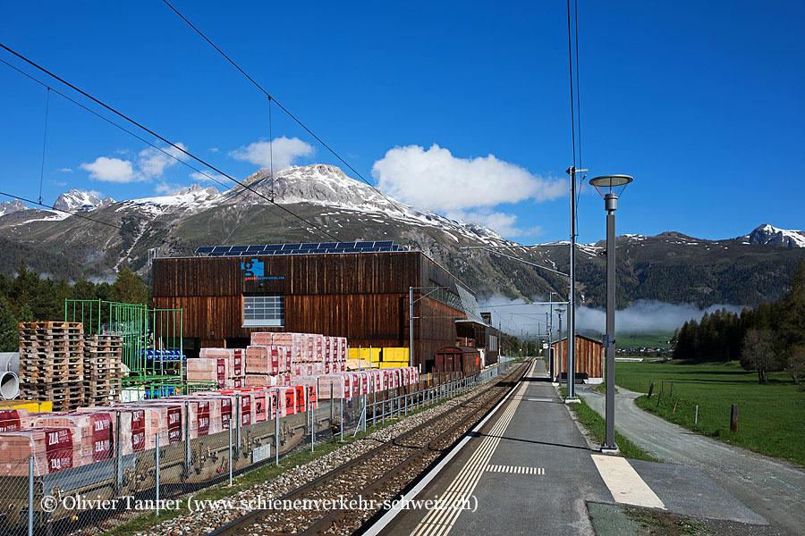 "Bahnhof ""Punt Muragl"""