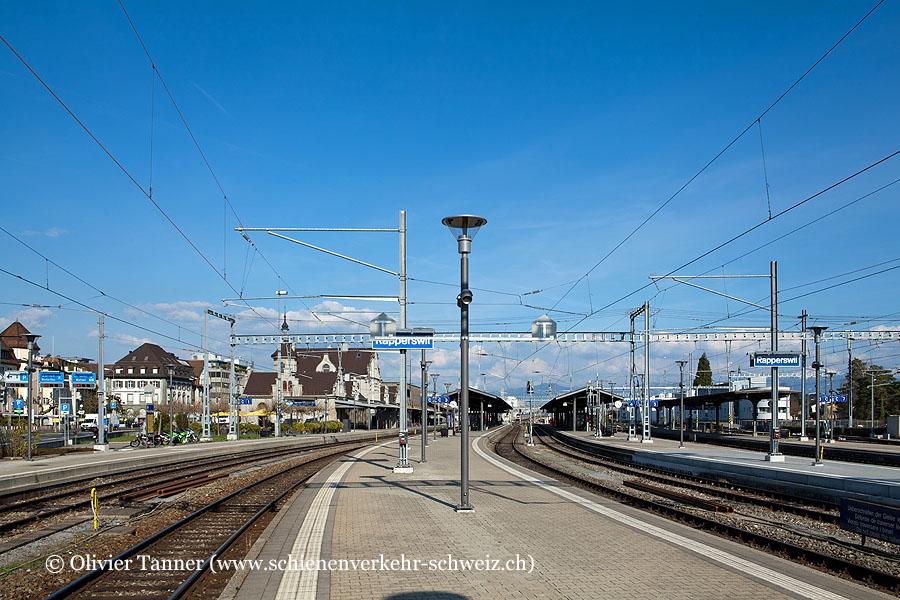 """Bahnhof """"Rapperswil"""""""