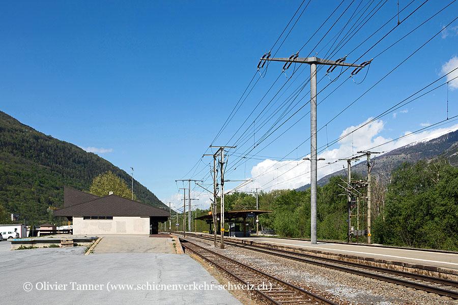 """Bahnhof """"Raron"""""""