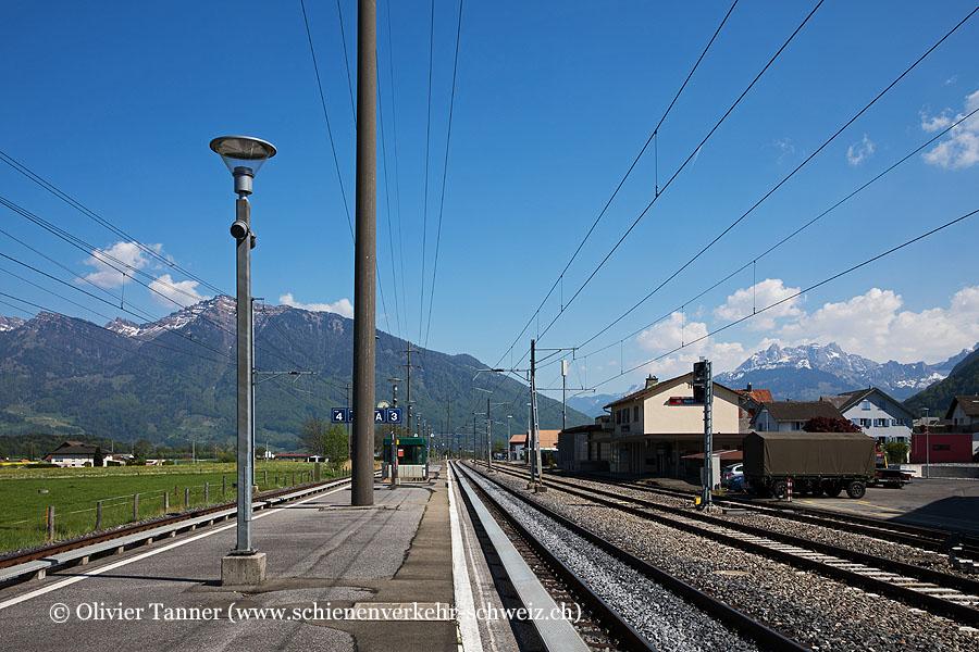 """Bahnhof """"Reichenburg"""""""