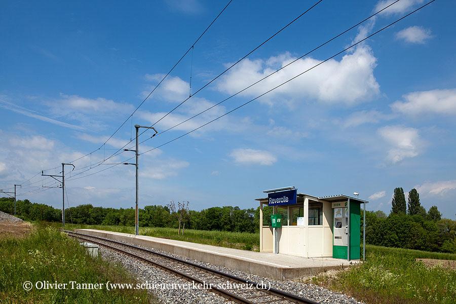 """Bahnhof """"Reverolle"""""""