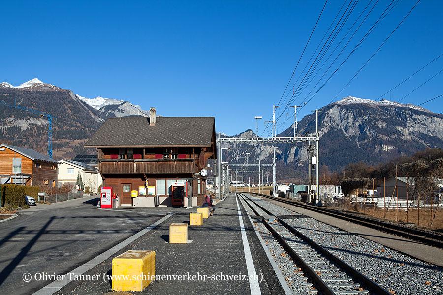"Bahnhof ""Rhäzüns"""