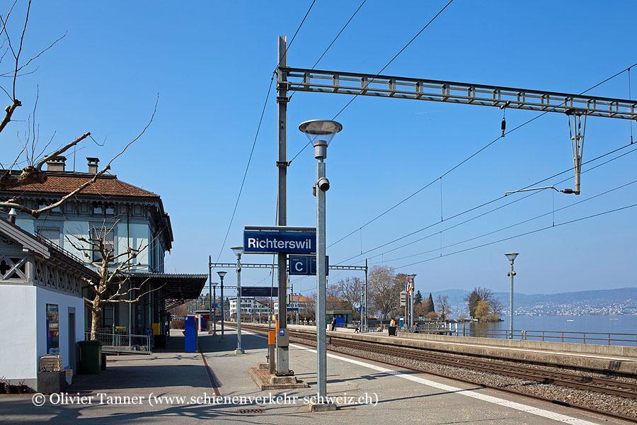 """Bahnhof """"Richterswil"""""""