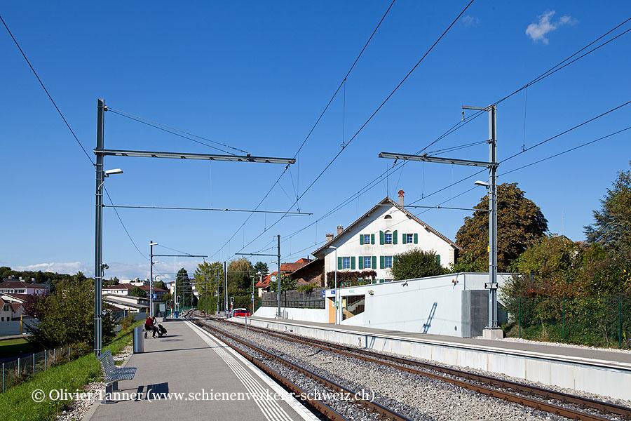 """Bahnhof """"Romanel-sur-Lausanne"""""""