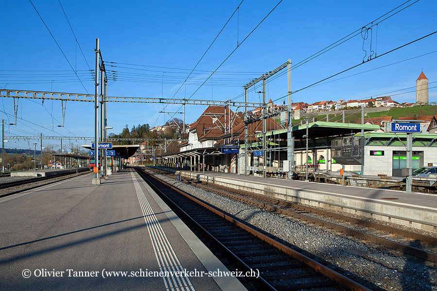 "Bahnhof ""Romont"""
