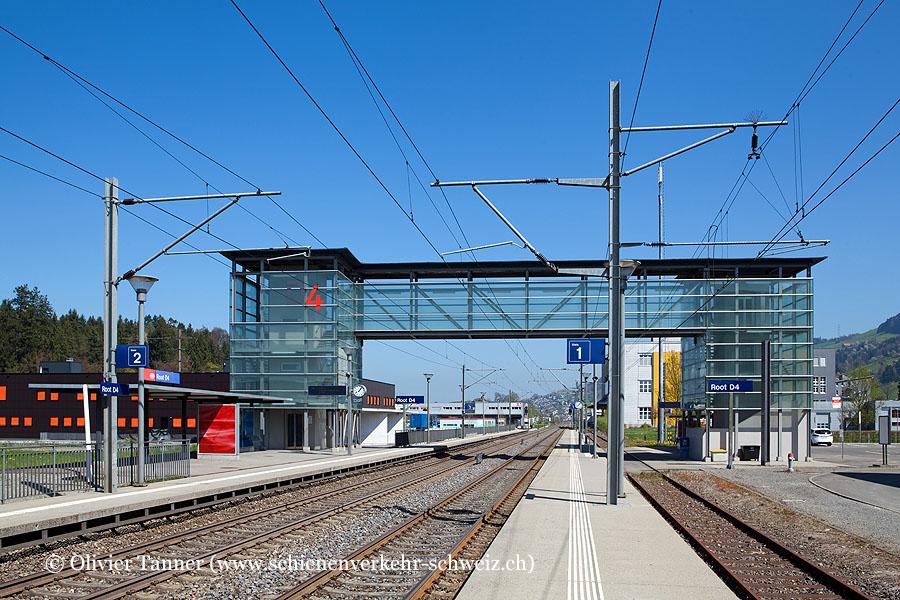 """Bahnhof """"Root D4"""""""