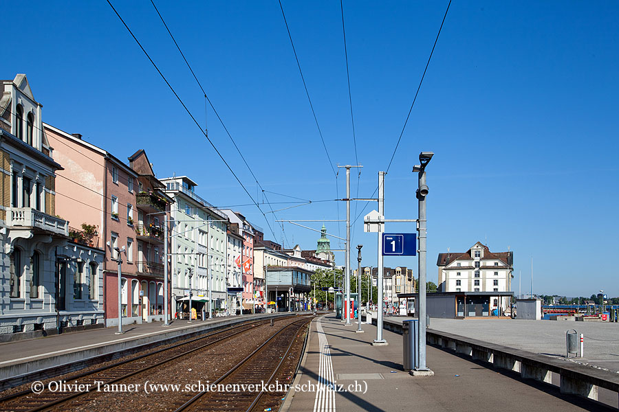 """Bahnhof """"Rorschach Hafen"""""""