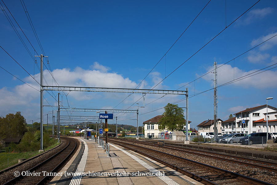 "Bahnhof ""Rosé"""