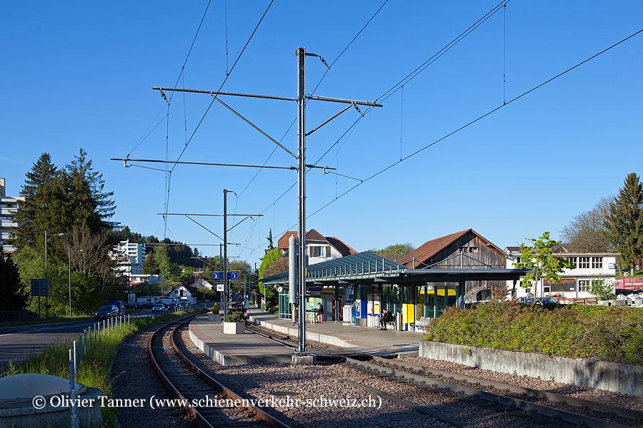 """Bahnhof """"Rudolfstetten"""""""