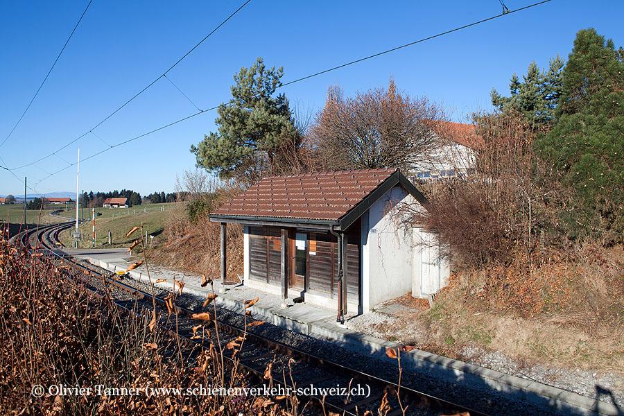 """Bahnhof """"Rueyres-Treyfayes"""""""