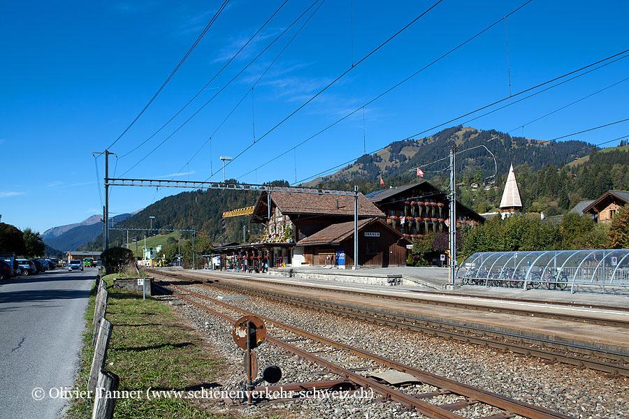 """Bahnhof """"Saanen"""""""