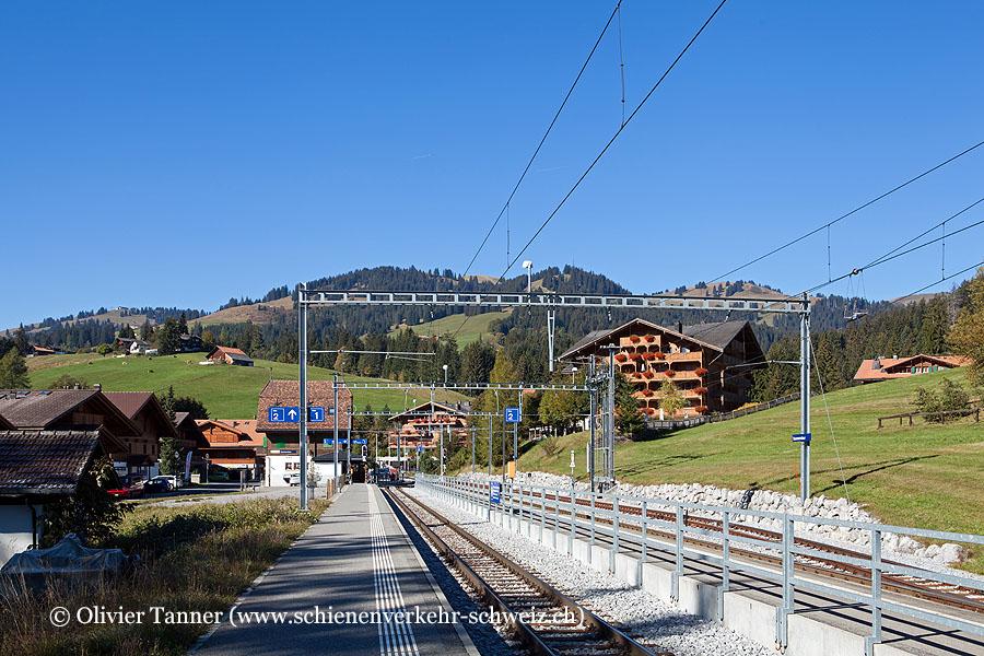 """Bahnhof """"Saanenmöser"""""""