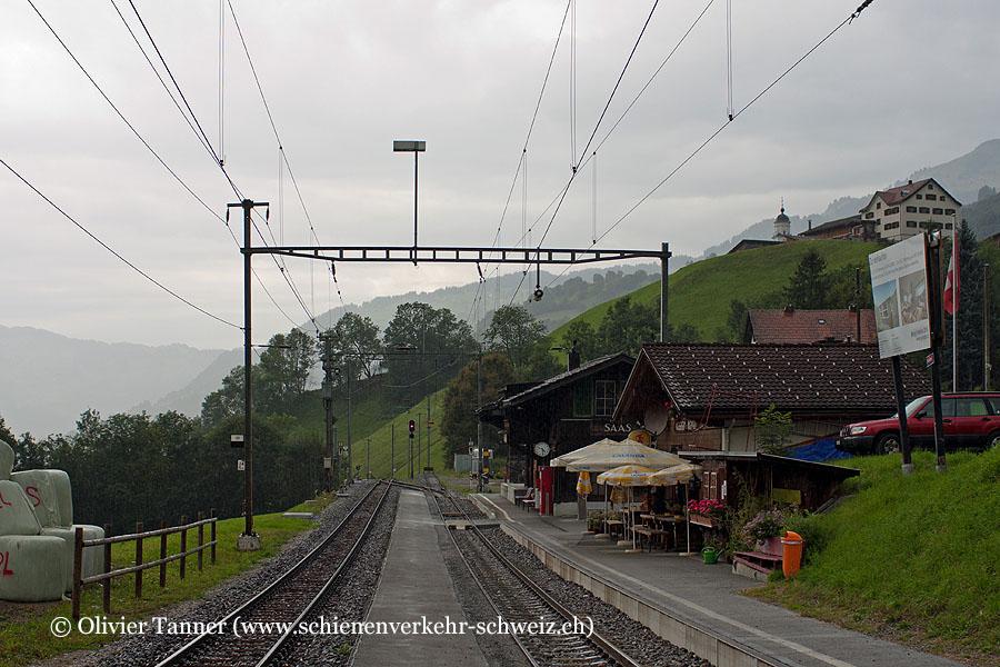 """Bahnhof """"Saas"""""""