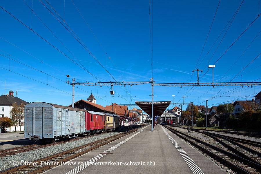 """Bahnhof """"Saignelégier"""""""