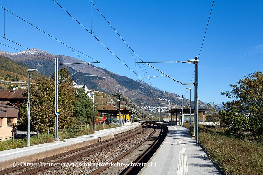 """Bahnhof """"Salgesch"""""""