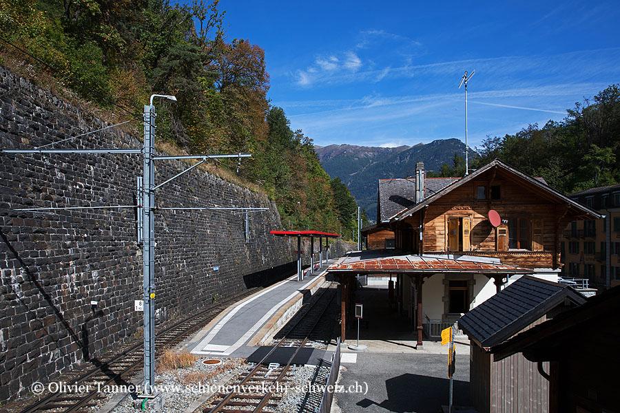 """Bahnhof """"Salvan"""""""