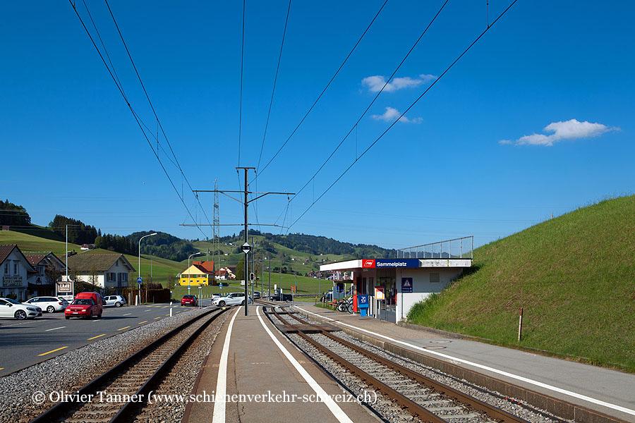 "Bahnhof ""Sammelplatz"""