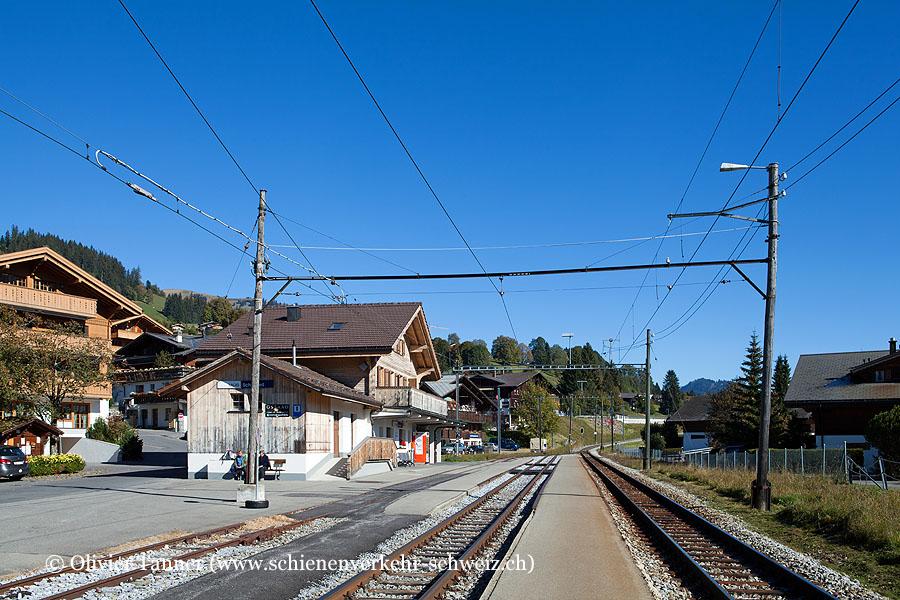 """Bahnhof """"Schönried"""""""