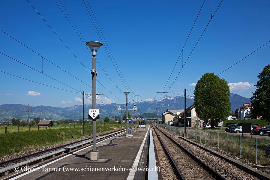 """Bahnhof """"Schübelbach-Buttikon"""""""