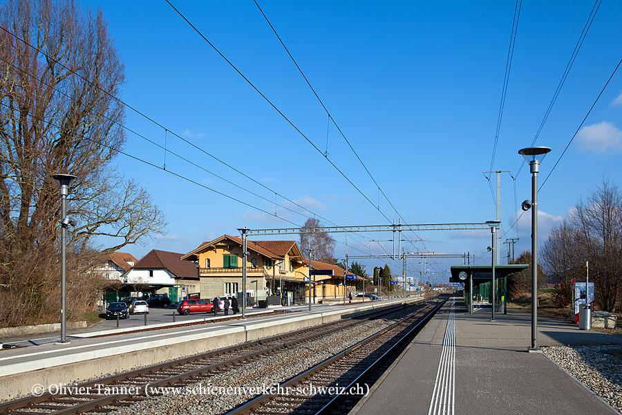 """Bahnhof """"Schüpfen"""""""