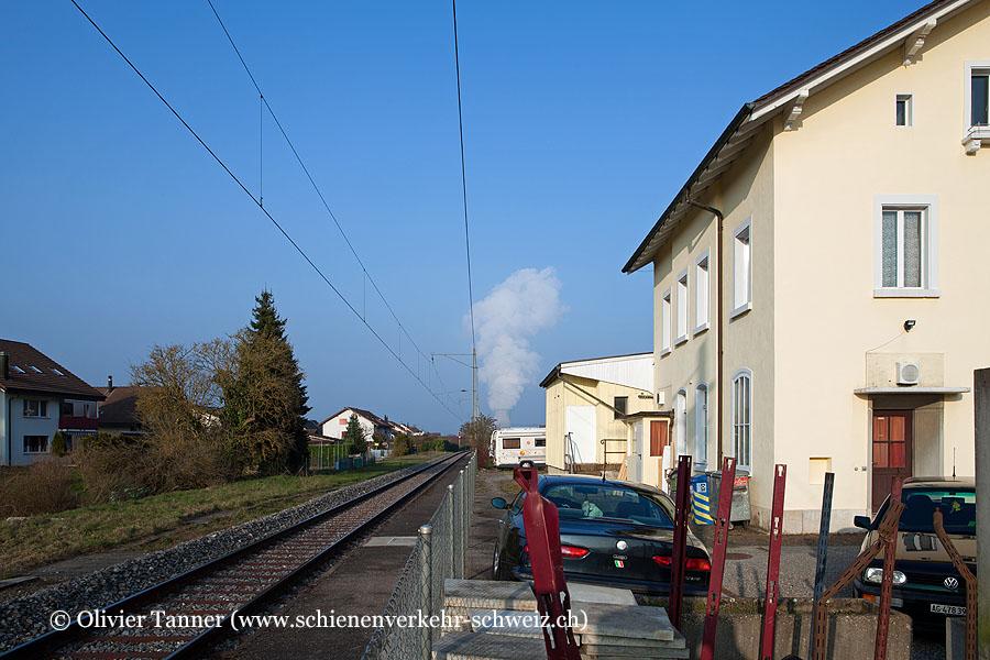 """Bahnhof """"Schwaderloch"""""""