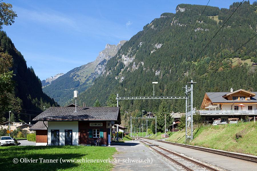 """Bahnhof """"Schwendi bei Grindelwald"""""""
