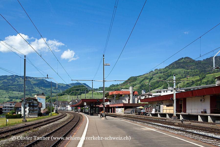 """Bahnhof """"Schwyz"""""""
