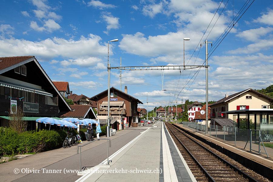 """Bahnhof """"Seftigen"""""""