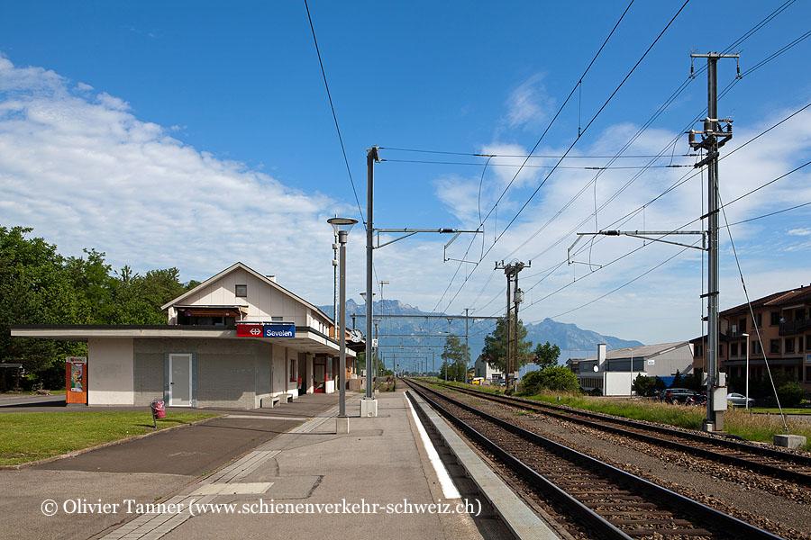 """Bahnhof """"Sevelen"""""""