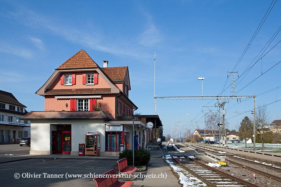 """Bahnhof """"Siegershausen"""""""