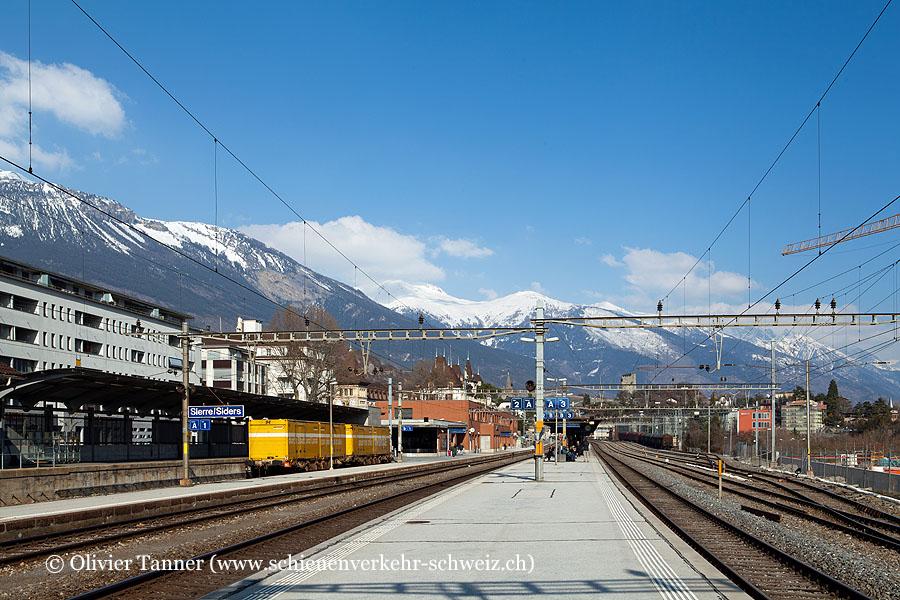 """Bahnhof """"Sierre Siders"""""""