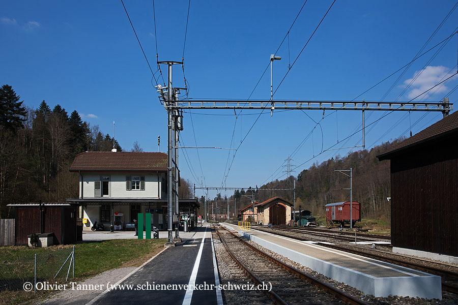 """Bahnhof """"Sihlwald"""""""